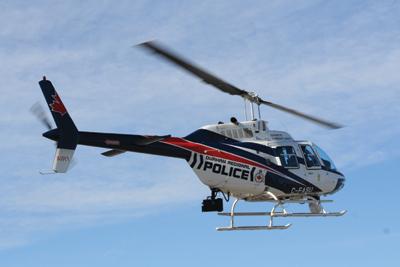 Durham Police Service Bell 206