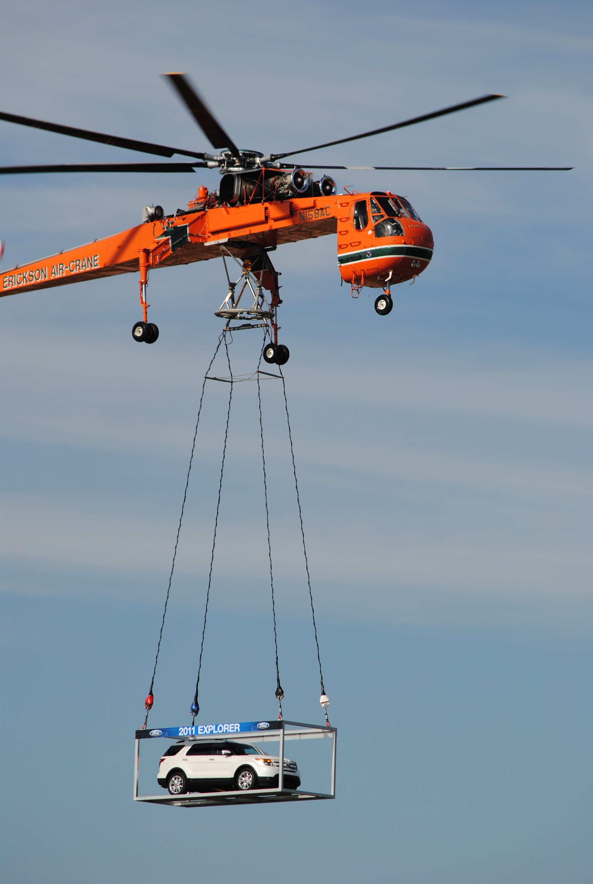 erickson air crane helicopter with 417053 Erickson Helicopters on Sikorsky S 64e Fire Fighting Helicopter Add On Replace in addition Elvis The King Of Fire Bombing Choppers moreover Heavy lift helicopters additionally File Sikorsky S 64 N159AC Erickson Air Crane   OSD likewise 3.