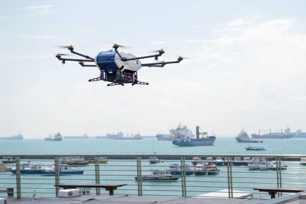 Airbus Skyways drone trials