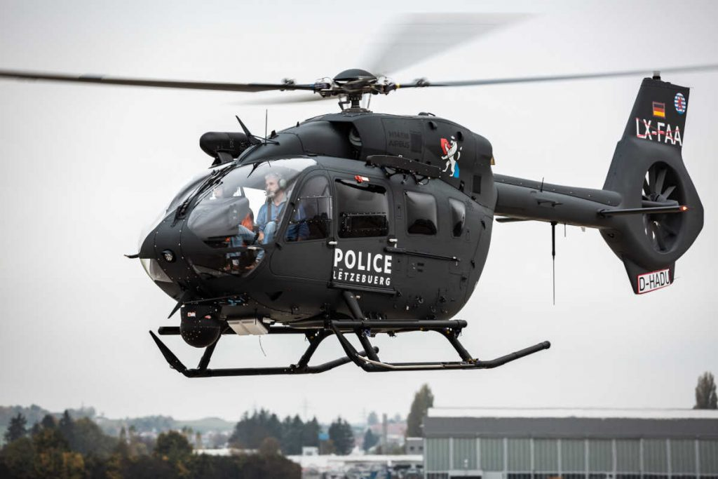 First H145M received by Luxembourg