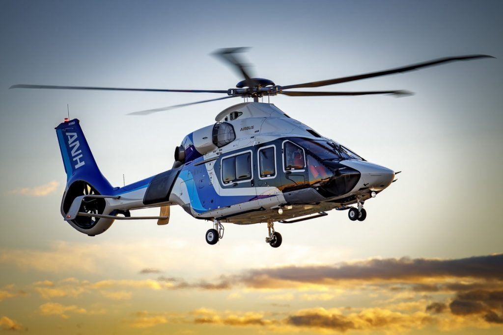 ANH's H160 completes first flight