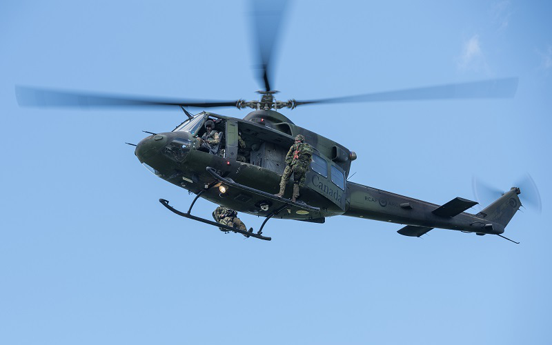CH-146 Griffon Limited Life Extension begins in Mirabel