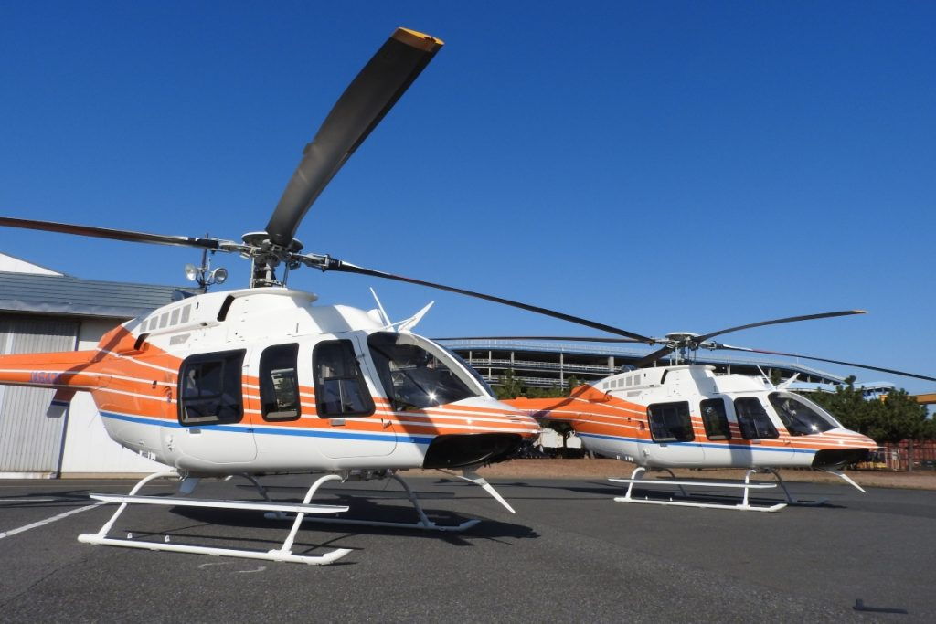 Bell delivers 407GXis to Japan's Shin-Nihon Helicopters