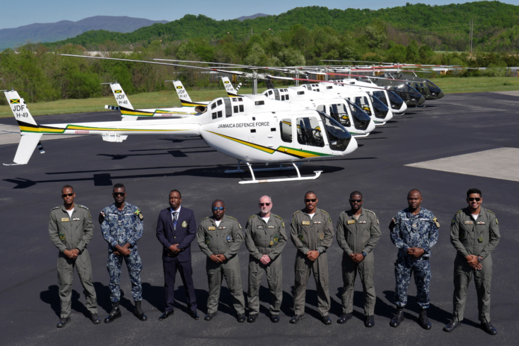Bell delivers 300th 505 Jet Ranger to JDF