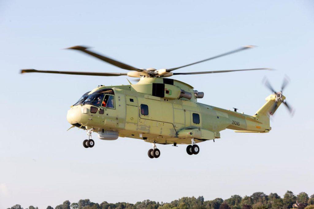 Leonardo's AW101 for Polish Navy flies for first time