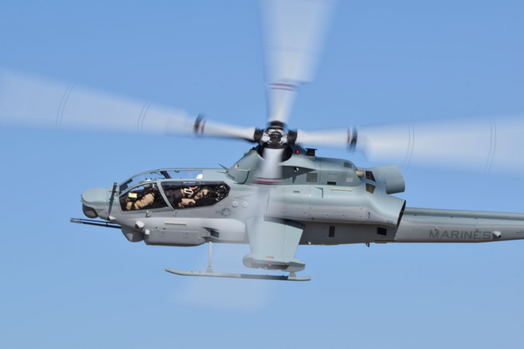 Bell delivers 100th AH-1Z to U.S. Marine Corps